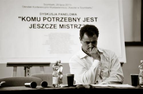 """prof. Artur Mordka - panel dyskusyjny """"komu potrzebny jest jeszcze mistrz?"""""""